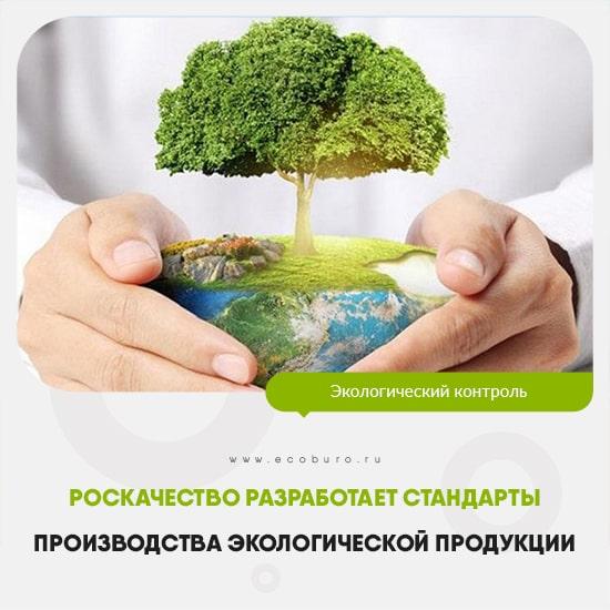 Роскачество разработает стандарты производства экологической продукции