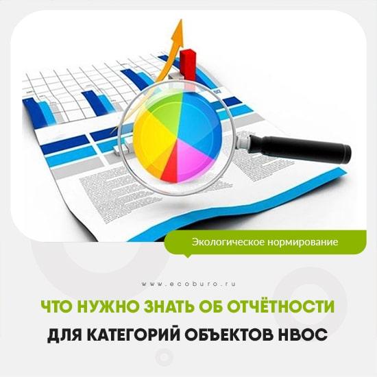 Что нужно знать об отчётности для категорий объектов НВОС